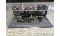 mittl.gel. Personenkraftwagen Horch (Kfz.15) + 15 cm Nebelwerfer, масштабные модели бронетехники, DeAgostini (военная серия), scale72