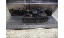 Pz.Kpfw. IV Ausf. G (Sd.Kfz. 161/1), масштабные модели бронетехники, PzKpfw, DeAgostini (военная серия), 1:72, 1/72