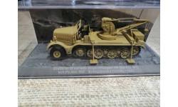 Drehkran 6t auf sch. Zugkraftwagen 18t (Sd.Kfz. 9/1), масштабные модели бронетехники, DeAgostini (военная серия), 1:72, 1/72