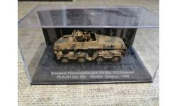 Schwerer  Panzerspahwagen  (Sd.Kfz 233)  Stummel, масштабные модели бронетехники, DeAgostini (военная серия), scale72