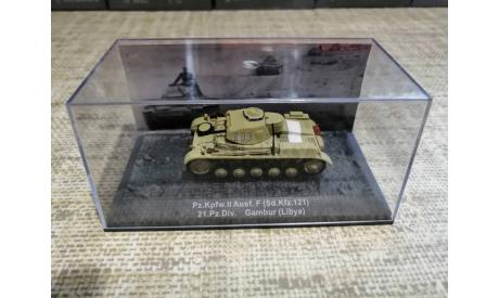 Pz. Kpfw.  II  Ausf . F, масштабные модели бронетехники, PzKpfw, DeAgostini (военная серия), scale72