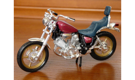 YAMAHA  XV1000  VIRAGO, масштабная модель мотоцикла, maisto, scale0