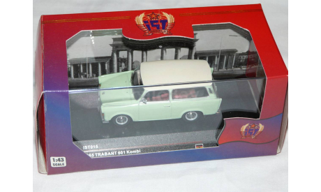TRABANT 601 KOMBI  1965     IST 015   Новогодняя Распродажа !!!, масштабная модель, IST Technology (PCT), scale43