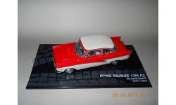 Ford Taunus 17M P2 Altaya, масштабная модель, 1:43, 1/43