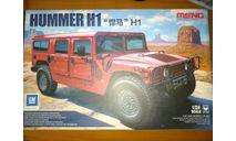 Meng model Hummer H1+Meng model Hummer H1 upgrade kit, сборная модель автомобиля, scale24