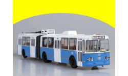 ЗиУ-10 (ЗиУ-683) троллейбус (бело-голубой)SSM4006