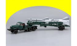 ЗИС-121Б + ТЗМ ПР11А (Ракета 13ДСУ) ЗИС 121Б седельный тягач Dip Models 115103 + Транспортно-заряжающая машина ПР11А (с ракетой 13ДСУ) С60111