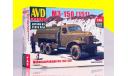 Сборная модель Маслозаправщик М3-150 ( ЗИС 151) AVD Models KIT, сборная модель автомобиля, 1:43, 1/43, Автомобиль в деталях (by SSM), ЗИЛ