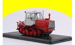 Трактор Т-150 гусеничный (красный/белый) SSM8010, масштабная модель трактора, 1:43, 1/43, Start Scale Models (SSM), ХТЗ