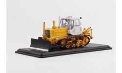 Трактор Т-150 (Т-150Д)  гусеничный с отвалом (желтый/белый) SSM