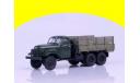 ЗИС 151 бортовой, зелёный, масштабная модель, 1:43, 1/43, Автоистория (АИСТ), ЗИЛ