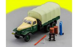 ЗИС-151 'Техпомощь' Зелёно-Бежевый Dip Models 115104