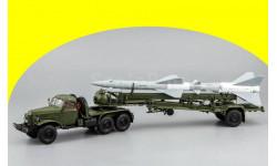 ЗИЛ-157КВ+ Транспортно-заряжающая машина ПР11Б (с ракетой 20Д)  С60112