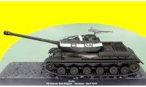 ИС-2 (ошибочно подписан ИС-2М, Is-2m) Altaya 1/43 танк, масштабные модели бронетехники, 1:43, IXO
