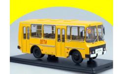 ПАЗ-32051 городской оранжевый  ДЕТИ SSM 4025