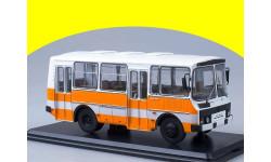 ПАЗ-32051 городской оранжевый SSM 4026