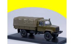 ГАЗ-33081 4х4 (двиг. Д-245.7 Diesel Turbo) с тентом (хаки) SSM 1156 Горький 33081