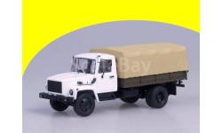 ГАЗ-3309 (двиг. Д-245.7 Diesel Turbo) с тентом, (белый-бежевый) Горький-3309 (двигатель с турбонаддувом)