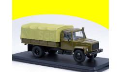 ГАЗ-3309 (Д-245-7 Diesel Turbo) с тентом (хаки) SSM 1153, масштабная модель, 1:43, 1/43, Start Scale Models (SSM)