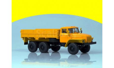 43202 6x6 бортовой (деревянная платформа, покрышки О-47А) АИСТ 100961, масштабная модель, 1:43, 1/43, Автоистория (АИСТ), УРАЛ