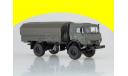 КАМАЗ-4350 4х4 Мустанг (с тентом) SSM1320, масштабная модель, 1:43, 1/43, Start Scale Models (SSM)