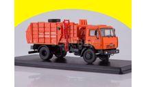 МКМ-4503 (43253) мусоровоз КАМАЗ-43253 МКМ Ряжский АРЗ, масштабная модель, 1:43, 1/43, Start Scale Models (SSM)