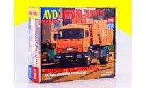 Сборная модель мусоровоз МКМ-4503 (43253) Kit .......... Бесплатная доставка по России 2090 р!, сборная модель автомобиля, 1:43, 1/43, Автомобиль в деталях (by SSM), КамАЗ