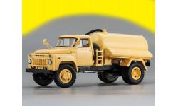 ГАЗ-53 АНМ-53А Ассенизаторная машина (1977 г.), бежевый, Горьковский грузовик Dip Models