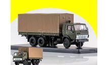 КАМАЗ-53212 бортовой с тентом хаки SSM 1279, масштабная модель, 1:43, 1/43, Start Scale Models (SSM)
