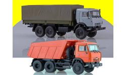 КАМАЗ-53501 6x6 бортовой + КАМАЗ-65115 самосвал + ПАО КАМАЗ