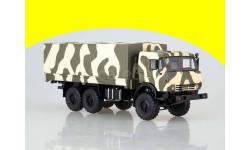КАМАЗ-53501 Мустанг камуфляж Лесной SSM1303, масштабная модель, Start Scale Models (SSM), scale43