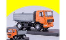 МАЗ-5550 самосвал рестайлинг SSM 1214, масштабная модель трактора, 1:43, 1/43, Start Scale Models (SSM)