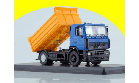 МАЗ-5550 самосвал SSM 1209, масштабная модель трактора, 1:43, 1/43, Start Scale Models (SSM)
