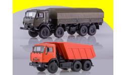 КАМАЗ-6350 Мустанг 8x8 бортовой + КАМАЗ-65115 самосвал ПАО КАМАЗ
