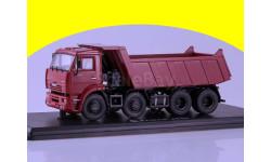 Масштабная модель КАМАЗ-6540 8х4 самосвал (ранний) SSM1238 1/43