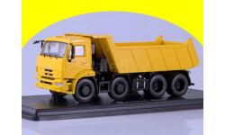 КАМАЗ-6540 8х4 самосвал, желтый SSM1239, масштабная модель, 1:43, 1/43, Start Scale Models (SSM)