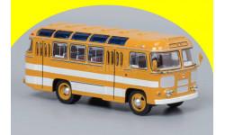 ПАЗ-672 (охра, белые полосы) ClassicBus 03002B, масштабная модель, 1:43, 1/43
