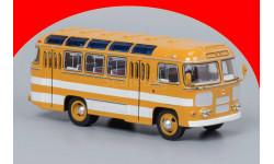 ПАЗ-672 (охра, белые полосы) ClassicBus 03002B Акция