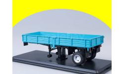 Полуприцеп ОДАЗ-885 (голубой) для КАЗ-608 SSM 7013