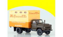 SSM1329 ГЗТМ-893А (52) Мебельный фургон зеленый, масштабная модель, scale43, Start Scale Models (SSM), ГАЗ
