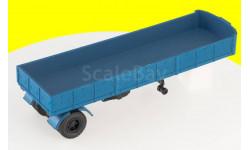 Н865 МАЗ-9380 (1981) полуприцеп (синий)