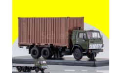 KAMAZ-53212 с 20-футовым контейнером, масштабная модель, 1:43, 1/43, Start Scale Models (SSM), КАМАЗ