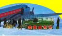 ГТ-С Гусеничный транспортёр-снегоболотоход (ГТ-С), 1954 г., с тентом) SSM 3004, масштабная модель трактора, 1:43, 1/43, Start Scale Models (SSM), ГАЗ