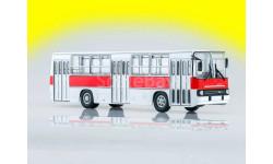 Ikarus-260 городской Икарус 260 бело-красный, масштабная модель, 1:43, 1/43, Советский Автобус