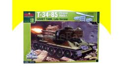 Танк Т-34/85 1/35(!) сборная модель