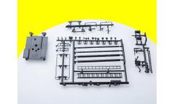 Литник D для сборной модели АЦ-40 (131), 1971 г. 1075KIT-л пожарная лестница, пеногенераторы, сборная модель автомобиля, 1:43, 1/43, AVD Models, ЗИЛ