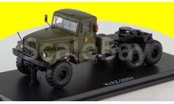 KRAZ-255V NVA седельный тягач КрАЗ-255В,  хаки, армейский, масштабная модель, Premium Classixxs, scale43