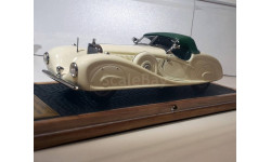 Mercedes-Benz 540K 1935 W29 Roadster King Ghazi I (2B) closed  1/43 EMC Пивторак