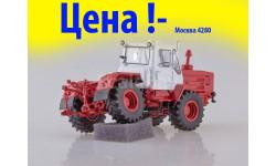 Трактор Т-150К (красный), масштабная модель трактора, 1:43, 1/43, Start Scale Models (SSM)