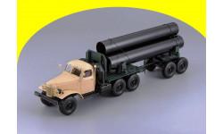ЗИЛ 157К/ТВ-5 - тягач с роспуском для перевозки труб большого диаметра Dip Models 115705